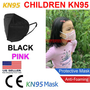 Child Kn95 Face Mask Disposable Mouth Cover Medical Protective Respirator Pm2 5
