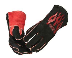 Lincoln Electric Traditional Mig Stick Welding Leather Gloves K2979 all