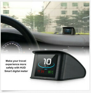 Hud Display Smart Driving Computer Obd 2 P10 2 2 Inch Heads Up Speedometer Hot