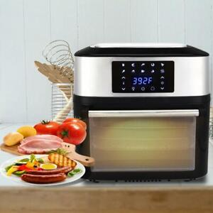 Zokop 1800w Air Fryer Oven All in one 16l Plus Dehydrator Grill Rotisserie 16qt