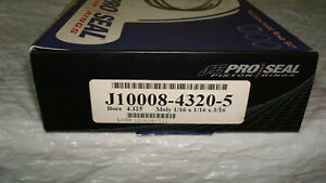 Clearance Je Big Block Chevy 4 325 Piston Rings