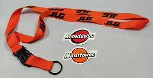 Jlg Sticker And 16in Detachable Lanyard For Oilfield Union Construction Crane
