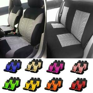 Auto Seat Cover Butterfly Car Truck Suv Van Universal Protectors Front Rear Rows