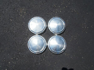 1968 1979 Dodge Plymouth Mopar Aluminum Poverty Dog Dish Hubcaps Set Of 4
