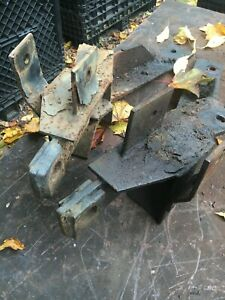 Fisher Minute Mount Plow Push Plates Gm Good Shape