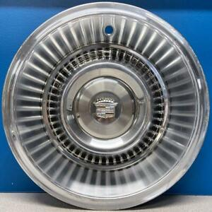 One Vintage Antique 1963 1964 Cadillac Deville 15 Hubcap Wheel Cover Used