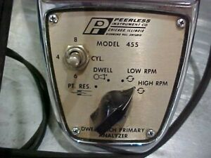 Dwell Meter Tach Primary Analyzer For Cars With Points