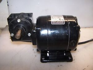 New Bodine 1 20 Hp Dc Electric Gearmotor 115 Vdc 173 Rpm Output Nsh 33r