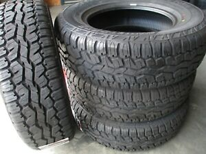 4 New 245 65r17 Armstrong Tru Trac At Tires 65 17 2456517 All Terrain A T 560ab