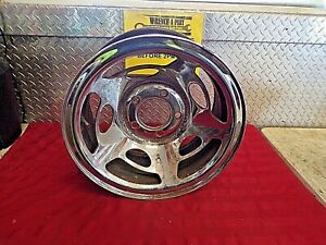 88 98 Chevy Chevrolet 1500 Ss 454 Sport Oem Gm 15 Chrome Steel Bcn Ka170