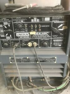 300 Amp Used Lincoln Idealarc Tig Welder Idealarc Tig 300 300