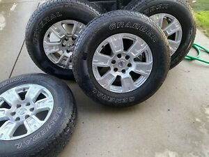 18 Nissan Titan Factory Wheels And Tires 265 70 R 18