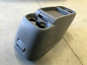 11 17 Honda Odyssey Van Used Front Center Console With 4 Cup Holders Gray