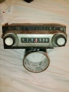 Original 1966 67 68 69 Ford Truck Bronco Am Radio Fomoco 6tbt Free Shipping
