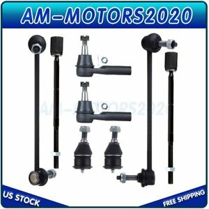 Fit For 96 07 Taurus Sable Ford Taurus Set Suspension Ball Joints Tie Rods Kit