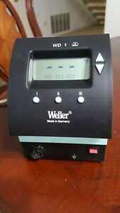 Weller Wd1 Single Channel Power Supply Digital Soldering Station
