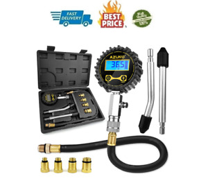 Petrol Engine Small Engine Cylinder Compression Tester 200 Psi With Adapter