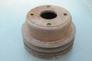 Mg Mgb Factory Water Pump Pulley 2 5 Inches Tall