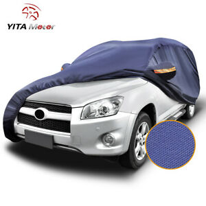 Yitamotor Waterproof Car Cover All Weatherproof Universal Fit Suv Up To 190 L