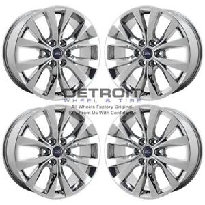 20 Ford F150 Pvd Bright Chrome Wheels h Rims Factory Oem 10003 Exchange 2007