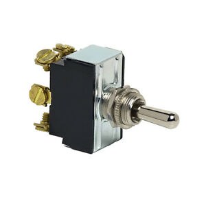 Cole Hersee Heavy Duty Toggle Switch Dpdt on off on 6 Screw