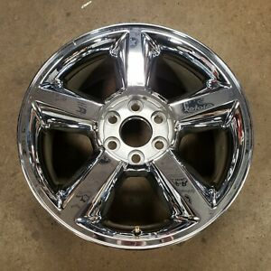 Chevrolet Avalanche Suburban Tahoe 20 Oem Wheel 5308 9598764 Chrome Original