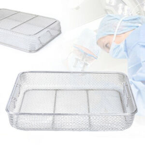 New Sterilization Tray Case Box Surgical Instrument Stainless Steel