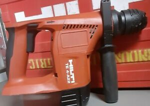 21 8v Hilti Te 4 a22 Sds Rotary Hammer Drill In Very Good Working Condition
