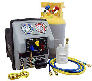 Mastercool 69360 22 Complete Recovery Machine For Refrigerated Trucks Reefer