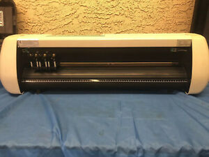 Us Cutter Sc Plotter Model 28 Inch Vinyl Cutter Machine With Power Cord Works