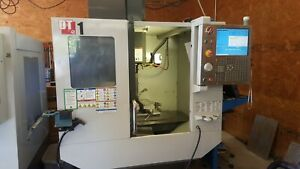 Haas Dt 1 Cnc Drill Tap Machining Center