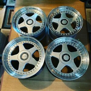 18 oz Racing Futura Newly Rebuild Staggered 5x114 3 Acura Nsx