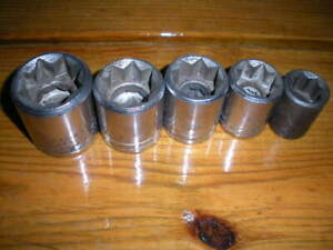 Proto Thorsen 8 Point 1 2 Drive Sockets