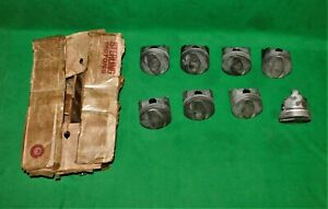 Nos Sterling Big Block Chevy 402 Cast Pistons 402p 30 Sealed Power Trw