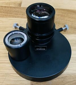 Olympus Imt 2 Inverted Microscope Phase Contrast Condenser Elwd 0 3 Extra Lens