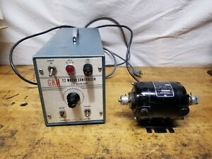 G K Heller Model T2 Variable Speed Reversible 1 40hp Dc Motor With Controller