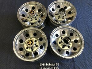 71 87 Chevy Truck 4wd 6 Lug 15x7 Original Truck Alloy Wheels Polished Truck Blaz