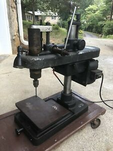 Hamilton Bench Top Sensitive Precision Drill Press 1 4 Hp 115 230 V 725 Rpm