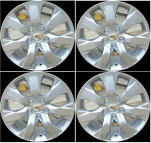 17 Painted Silver Alloy Wheels Rims Fits 2008 2009 2010 2011 Honda Accord