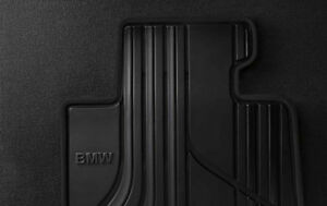 Bmw Oem Black Rubber Floor Mats Set 2014 2020 4 Series F32 Coupes 51472348155
