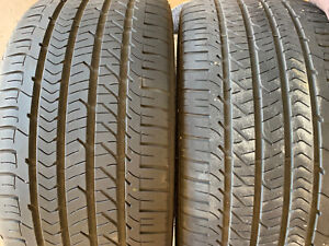 Used Set 2 Goodyear Eagle Sport All Season 255 35r20 97w