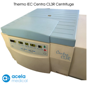 Thermo Iec Centra Cl3r Refrigerated Centrifuge W o Rotor