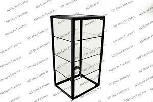 Glass Countertop Display Case Store Fixture Showcase With Front Lock 1t3o0p2