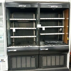 Master bilt Voam36 36in Vertical Open Air Refrigerated Merchandiser Display Case