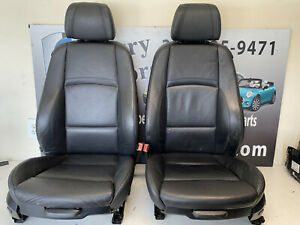 Bmw Leather Sport Seat Front Pair E92 328i 335i E82 135i Coupe 07 09