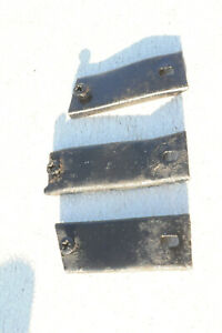 Mg Mgb Front Grill Top Mounting Brackets Chrome Bumper Car