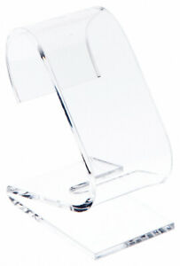 Plymor Clear Acrylic Watch Display Stand 1 5 W X 2 25 D X 3 H 12 Pack