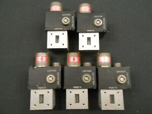 Wr75 Waveguide Switch Sector Microwave 75ap3l32 28vdc Locking But No Keys