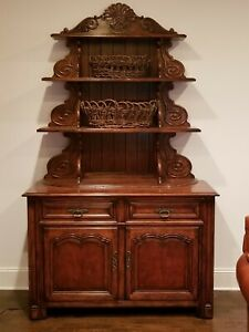 Ralph Lauren Marseilles Carved Cabinet And Optional Shelves