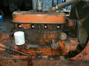 Used Engine Allis Chalmers Wd Tractor Wc